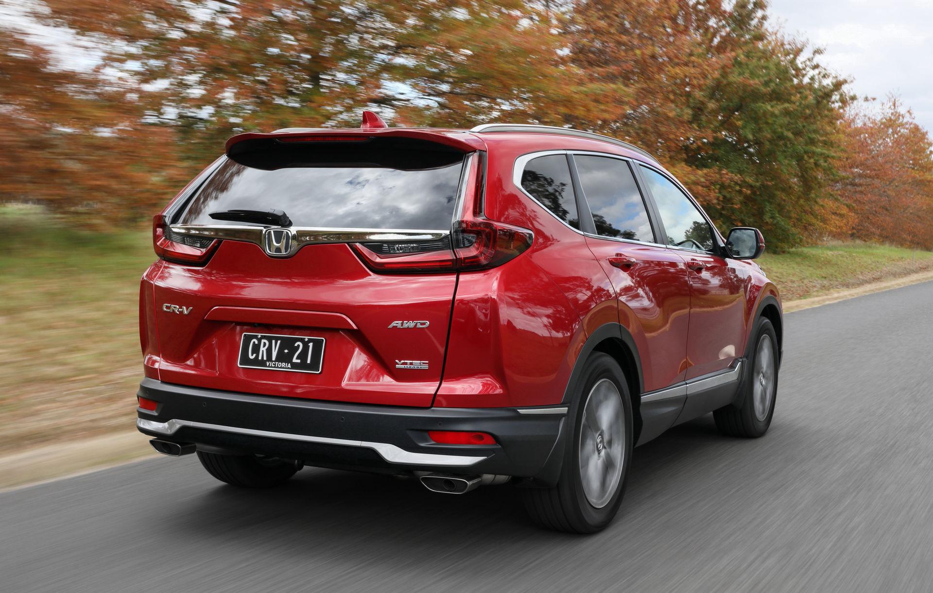 2021 Honda CR-V VTi-7, 1.5L 4cyl Petrol Turbocharged