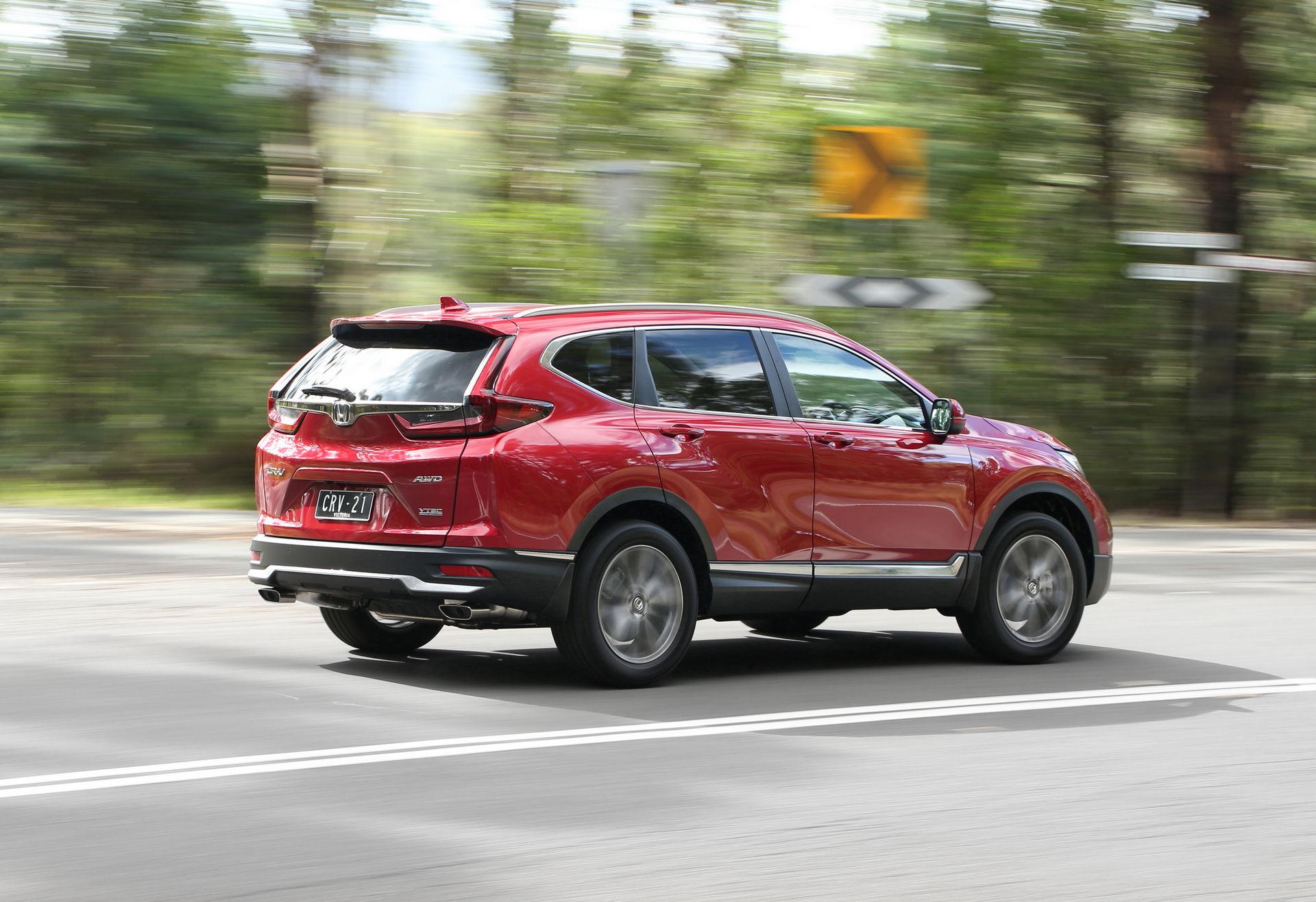 2021 Honda CR-V Touring, stock no. H21095 - Birchwood