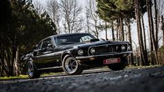 Meet The 1969 Ford Mustang Mach1, The Black Unicorn In The Middle East